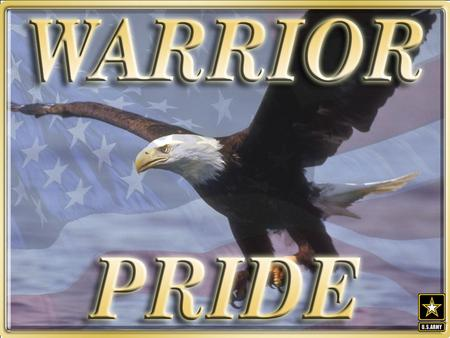 What is Warrior Pride? Warrior Pride is an Army-wide substance abuse campaign designed to reduce and deter drug use and alcohol abuse among Soldiers. Soldiers.