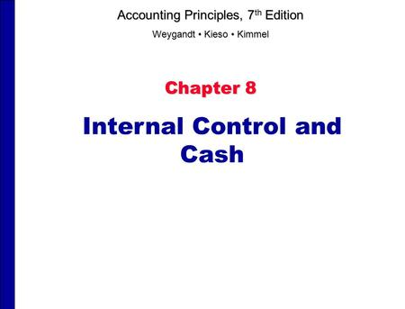 Effective Internal Controls for Cash