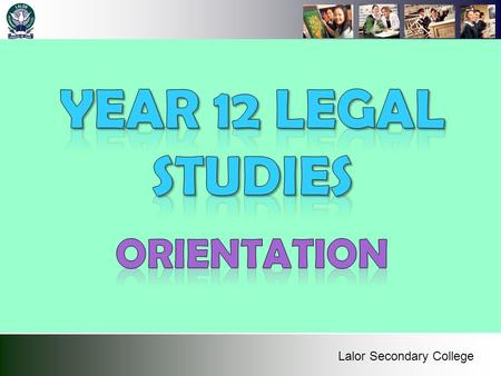 legal studies yr 12 crime assessment