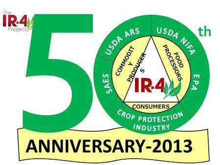 COMMODIT Y PRODUCER S FOOD PROCESSORS CONSUMERS ANNIVERSARY-2013 5 th.