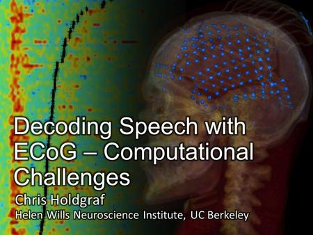 Challenge in neuroscience  Neuroscience is a very broad field. It covers everything from gene expression, to a single neuron firing, to activity across.