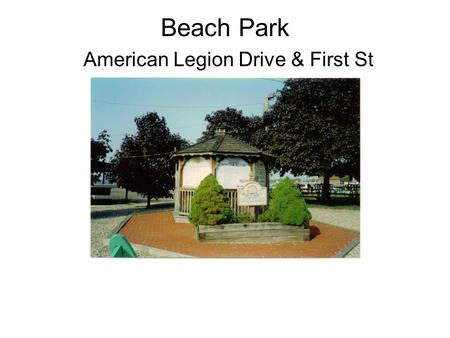 Beach Park American Legion Drive & First St. Parking Lot & Boat Ramp Passes & Bait.