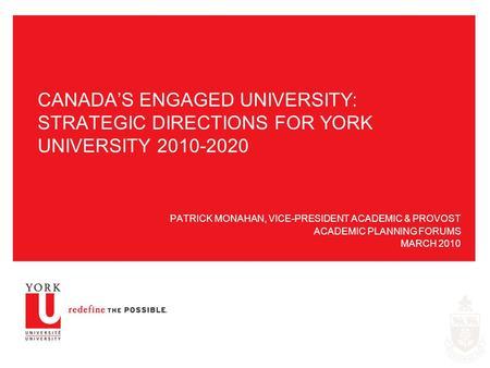York university internationalisation strategy