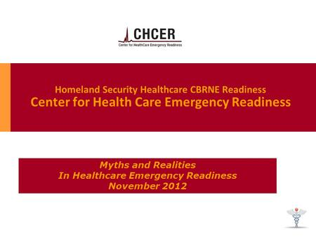 In Healthcare Emergency Readiness