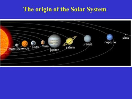 The origin of the Solar System. Small planets beyond Pluto – Sedna, ~1,300 – 1750 km dia.