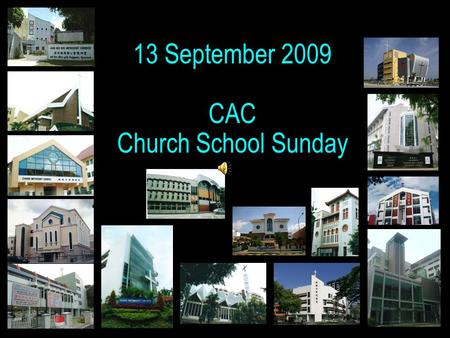12,308 29 268 2908 2733 12,308 2,568+ 1 13 September 2009 CAC Church School Sunday.
