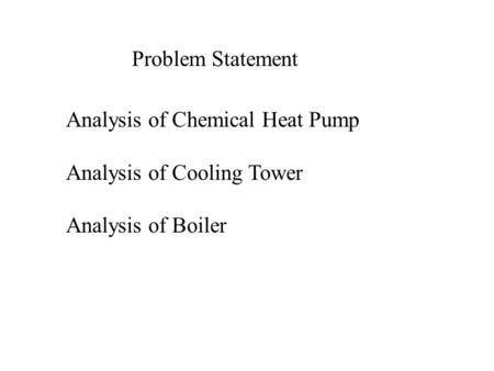 an analysis of haber process Life cycle analysis of an alternative to the haber-bosch process: non-renewable energy usage and global warming potential of liquid ammonia  haber-bosch process,.