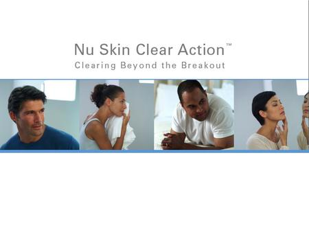 Nu Skin Clear Action.