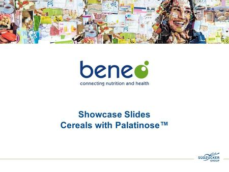 Showcase Slides Cereals with Palatinose™