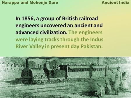 Harappa and Mohenjo Daro Ancient India