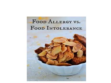 What is a food allergy? harmless food protein = threatening substance (allergen)