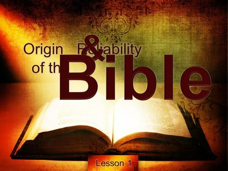 What belongs in the Bible and what does not belong? How can we know that we have the right books in our Bible? How did certain documents, and these only,