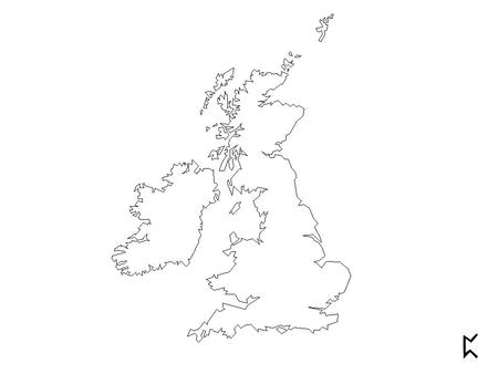 West Saxon Kentish Mercian Northumbrian Humber Hadrian's Wall Present boundary Types of English in the British Isles, A.D. 800.