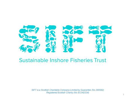1 SIFT is a Scottish Charitable Company Limited by Guarantee (No.399582) Registered Scottish Charity (No.SC042334)