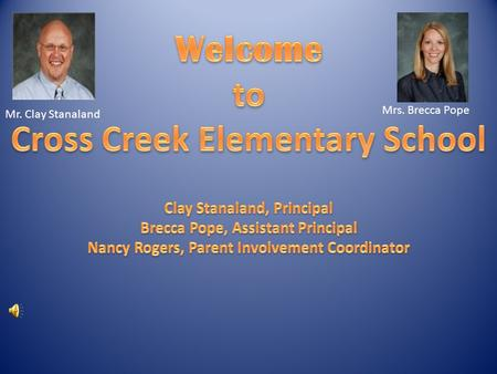 Mrs. Brecca Pope Mr. Clay Stanaland. CC BEE BOOSTERS Michelle Manning, President JOIN OUR BEE BOOSTERS.