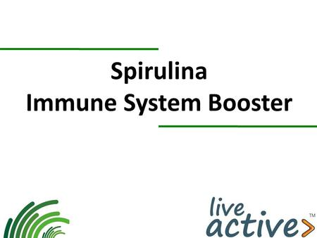 Spirulina Immune System Booster. Spirulina Spirulina or Arthrospira platensis is a uni-cellular microalgae which grows in fresh water, in salt water,