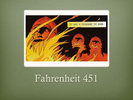 a social criticism in the story fahrenheit 451