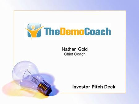 Nathan Gold Chief Coach