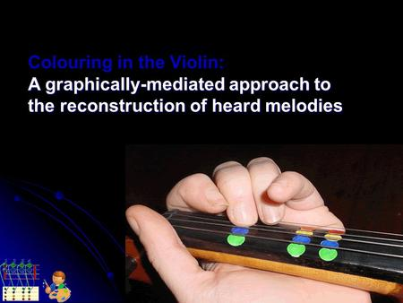 Colouring in the Violin: A graphically-mediated approach to the reconstruction of heard melodies.