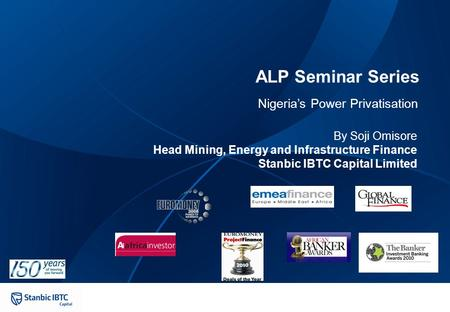Contents Section Page 15/04/ Overview of Nigeria's Power Sector