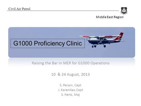 Raising the Bar in MER for G1000 Operations
