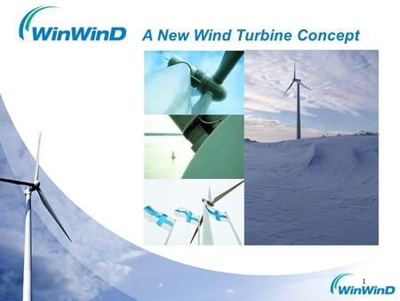 A New Wind Turbine Concept