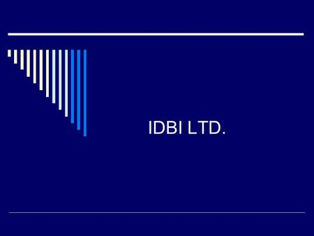 IDBI LTD.. Technical Outlook Short Term Target: 150-190 Medium Term Target: 240-300 We Initiate Buy with a target of 150 on short term view. We could.