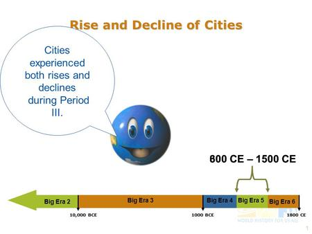 patterns of interregional unity c e ppt video online  1 rise and decline of cities cities experienced both rises and declines during period iii