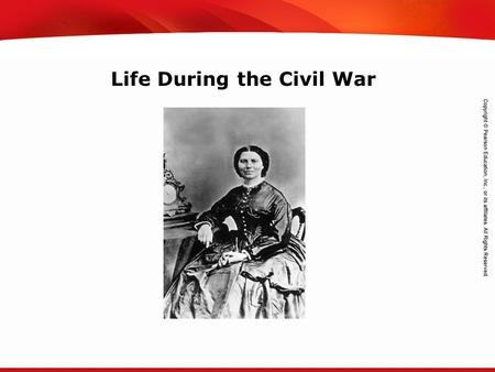 TEKS 8C: Calculate percent composition and empirical and molecular formulas. Life During the Civil War.