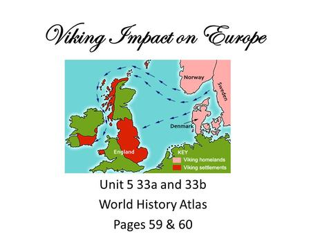 Viking Impact on Europe
