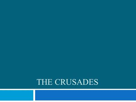 THE CRUSADES. Launching the CRUSADES  A long series or Wars between Christians and Muslims  They fought over control of Jerusalem which was called the.