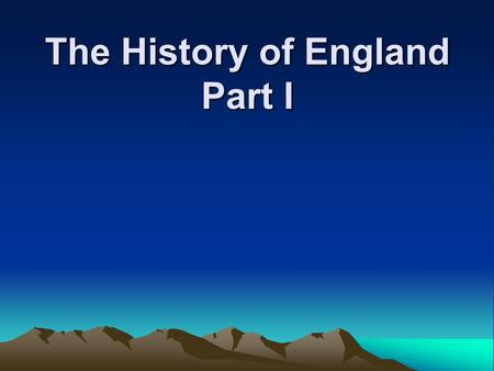 The History of England Part I. What Happened in Europe in 55 B.C.? In 55 B.C. the Germans moved around the territory of Europe fighting against the Celts.