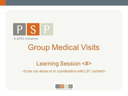 Group Medical Visits Learning Session. Dr. Fines Group Medical Visit Welcome 2.