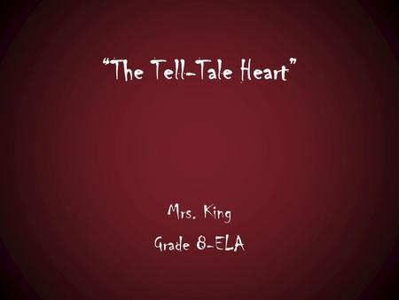 tell tale heart narrator insane essay