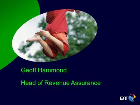 Geoff Hammond Head of Revenue Assurance. Agenda Revenue Assurance & CRAB Focus PPC Circuit Validation PPC Radial Distance Validation Questions.