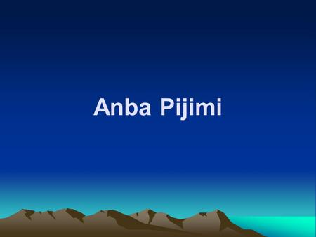 Anba Pijimi. The Life of a Monk A monk is a man who loves God very much and decides to leave the world and live in a monastery because he truly loves.