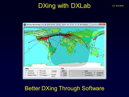 Better DXing Through Software DXing with DXLab v2.0 2014-09-03.