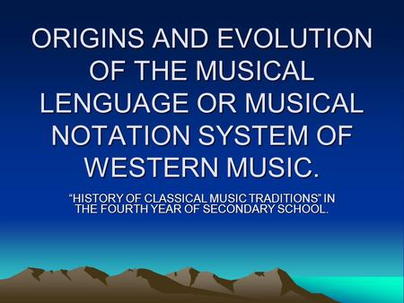 history of the evolution of music throughout the years Music through decades many teenagers felt that rock music made them feel more cool rock music also contributed to the rebellion years, in which many teenagers wanted to rebel against mainstream culture jan 1 becoming the best-selling album by a female group in music history.
