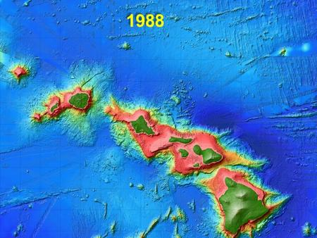 1988. Station ALOHA (~4750m deep) Hawaii Ocean Time-series (HOT) October 1988 - present (260 cruises; ~10/yr) 25 years of HOT.
