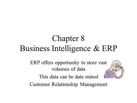 chapter 9 customer relationship management and business intelligence