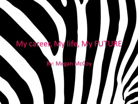 My career, My life, My FUTURE By: Megan McCoy. What I want to do! Neo-Natal nurses focus on new born babies. Whether they be premature or born right on.