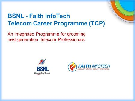 Telecom Career Programme (TCP)