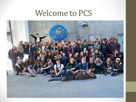 Welcome to PCS. Simon Fletcher, Principal The History of PCS Picture.