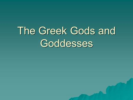 The Greek Gods and Goddesses. Zeus Zeus  The youngest Son of Cronus and Rhea  Supreme ruler of Mt. Olympus  He upheld the law, justice and morals;