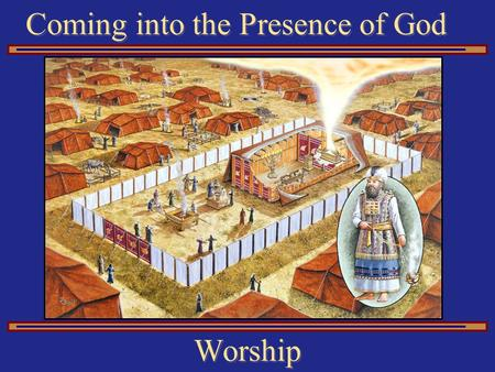 Coming into the Presence of God Worship. The Bronze Altar Sacrifices.