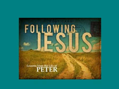 John 18:15-18, 25-27 Peter's Denials John 21:15-19 Jesus reinstates Peter.