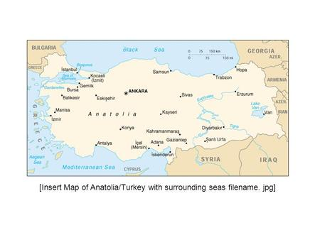 [Insert Map of Anatolia/Turkey with surrounding seas filename. jpg]