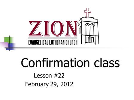 Confirmation class Lesson #22 February 29, 2012. For whom is the Lord's Supper For repentant disciples of Jesus who are able to remember the Lord's death.