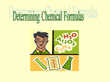 Empirical Formulas Empirical – relying on or derived from observation or experiment.