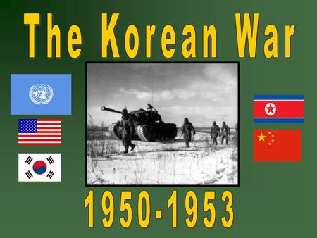 Background… Korea had been a unified country since the 7th century. During the 19 th century, Imperial Japan began an occupation of the Korean Peninsula.